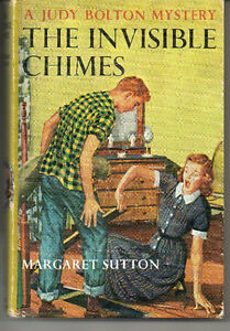 JUDY BOLTON Mystery #3: THE INVISIBLE CHIMES Maragret Sutton Hcv