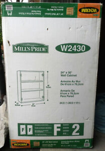 "NEW Mill's Pride Wall Cabinet - W2430 -24"" Wide x 30"" x 12"" Deep Cambridge Kitchener Area image 1"