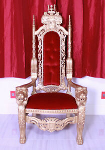 Wedding Chair Rental King Queen Throne