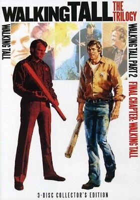 Walking Tall: The Trilogy (DVD, WS, 2012, 3-Disc Set) Joe Don Baker NEW
