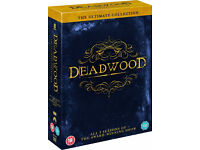 Deadwood Ultimate Collection DVD Boxset 1-3 Complete. Mint Condition!Only watched once!