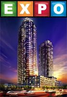 BRAND NEW EXPO CONDO FOR LEASE ON 20TH FLR IN VAUGHAN-HWY7&JANE