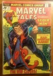 Comic. Marvel Tales. Spider Man! No.54 October 1974.