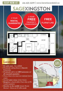 Rental Guarantee Condos Kingston ★ By Queen University From$200s