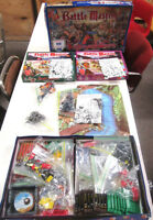 Battle Masters Fantasy Miniatures Battle Game w/2 Expansion Sets