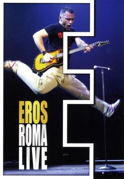 """EROS RAMAZZOTTI """"EROS ROMA LIVE"""" 2 DVD NEU"""