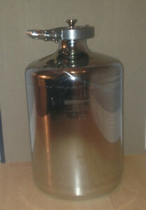 PS-18F Stainless Steel 316 5L Bottle with Triclamp Fitting