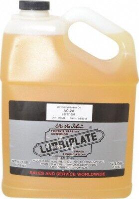 Lubriplate 1 Gallon Bottle Iso 100 Sae 30 Air Compressor Oil Viscosity Cs...