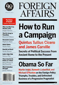 Foreign Affairs Magazine May/June 2012