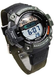 Casio SGW300HB-3A Mens TWIN SENSOR Sports Watch Altimeter Thermometer Barometer