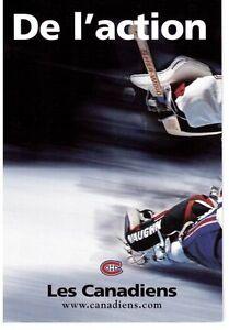cartes club hockey Canadien Montréal ( cards)