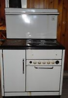 1960' Findlay wood and electric stove