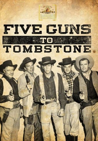 Five Guns to Tombstone - Region Free DVD - Sealed