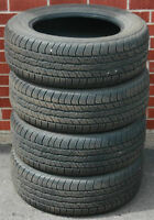 4 Dunlop Signature II 215/60R16 Tires Like New