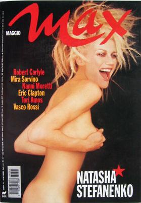 Max-'98-NATASHA STEFANENKO,Salma Hayek,Mira Sorvino,Eric Clapton,Robert Carlyle