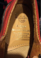 Vintage Red Suede shoes by Dr. Marten - size 8T