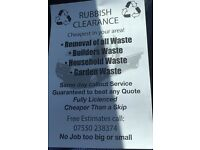RUBBISH CLEARANCE CHEAPER THEN A SKIP GIVE US A TRY