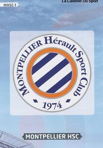 Mhsc 01 logo badge scudetto escudo montpellier card adrenalyn foot 2014 panini - Logo montpellier foot ...