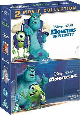 MONSTERS, INC. / UNIVERSITY 1 & 2 [Blu-ray Box Set] 2-Movie Disney Collection (Halloween 2 Blu Ray Special Edition)
