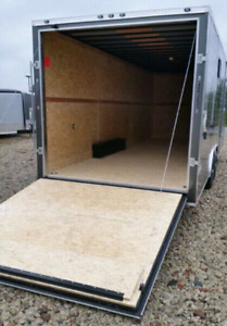 New Enclosed Trailer RENTALS 5x10 7x14 8.5x20