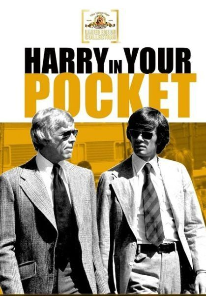 HARRY IN YOUR POCKET (1972 James Coburn)  Region Free DVD - Sealed