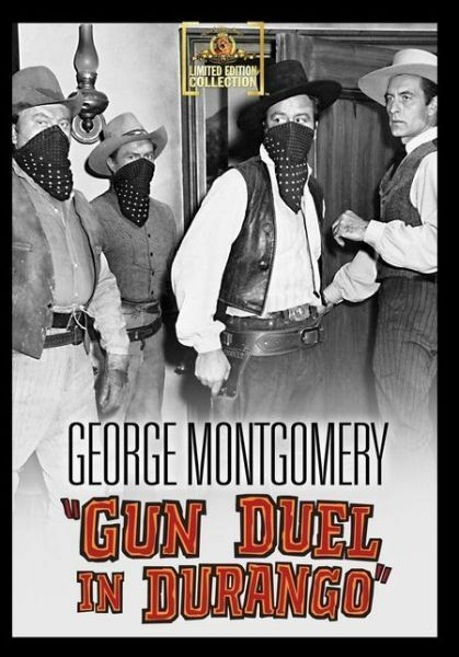 Gun Duel in Durango - Region Free DVD - Sealed