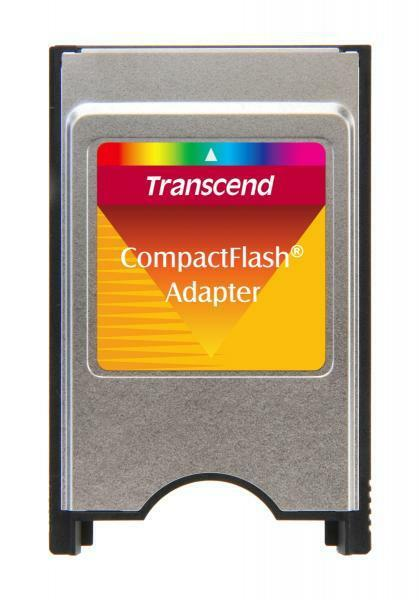 Transcend CompactFlash PCMCIA Adapter