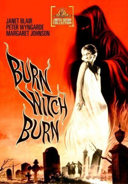 Burn Witch Burn - Region Free DVD - Sealed