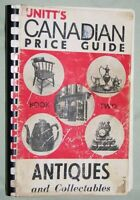 Unitt's Cdn Price Gde to Antiques & Collect.; Bk Two, 1969