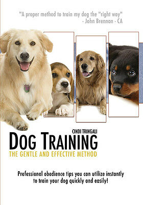 How To Train Your Dog & Puppy Video Certified Canine Expert Brand Dvd