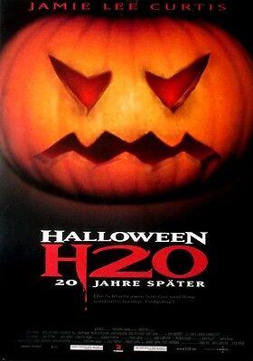 HALLOWEEN - H2O - 1998 - Filmplakat - Jamie Lee - Halloween 2 O Filme