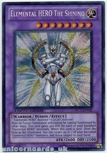 PRC1-ENV01 Elemental HERO The Shining Secret Rare Limited Edition Mint Card