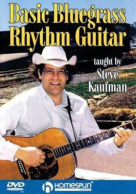 Basic Bluegrass Rhythm Guitar DVD Instructional Folk Instrmt DVD NEW 000641655