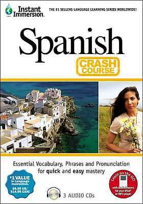 New 3 audio CD's Learn to speak SPANISH Language easily