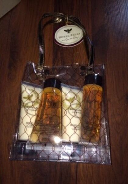 Royal Jelly Bag with 4 Items - Brand New!