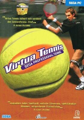 Virtual Tennis - Sega Professional Tennis | PC | gebraucht