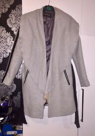Gorgeous River Island Grey jacket/ coat. Size 8 RRP £80
