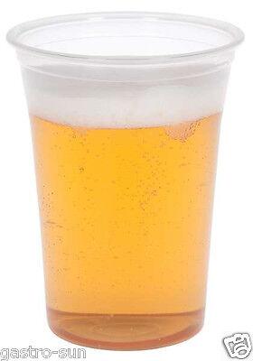Bierbecher Ausschankbecher Trinkbecher 300 ml 400 ml 500 ml PP Becher Plastik ()