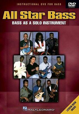 All Star Bass Bass As a Solo Instrument Instructional Bass  DVD NEW 000320488