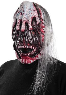 Maschera Zombie FacciaLacera Horror Travestimento Halloween Adulto Bambino FERR
