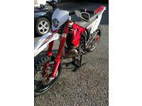 GAS GAS 250ec motocross road legal 2011 1 years MOT