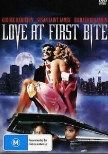 LOVE AT FIRST BITE (George Hamilton)   - DVD - UK Compatible - sealed