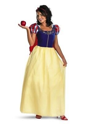 Womens Adult Disney Princess Deluxe Snow White Costume