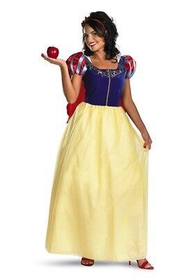 Damen Erwachsene Disney Prinzessin Deluxe Schneewittchen - Damen Schneewittchen Kostüm Deluxe