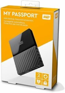 WD My Passport 2TB & 4TB portable hard drives MAC & PC versions!