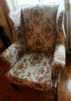 2 Cushion Chairs in perfect conditions *CAN BE SOLD SEPARATE*