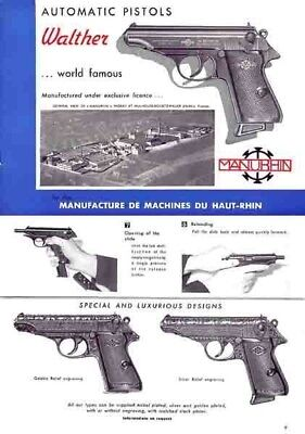 Walther PP and PPK 1956 Manual