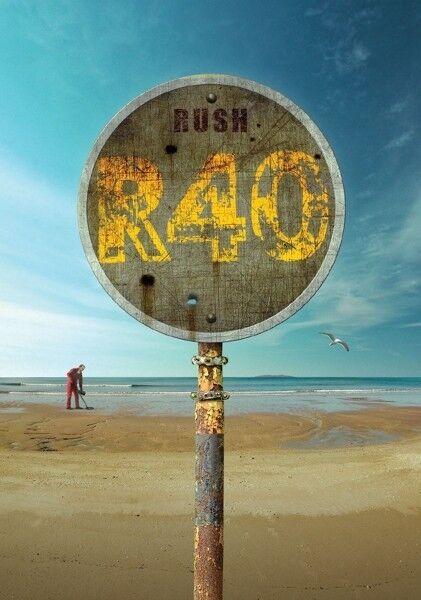 RUSH - R40 10 DVD NEU