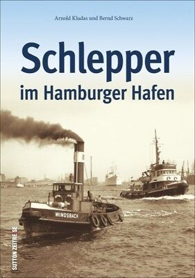Schlepper im Hamburger Hafen Geschichte Bildband Bilder Buch Fotos Schiffahrt AK