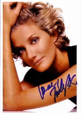 """Joely Richardson genuine autograph photo 6""""x8"""" signed IN PERSON"""